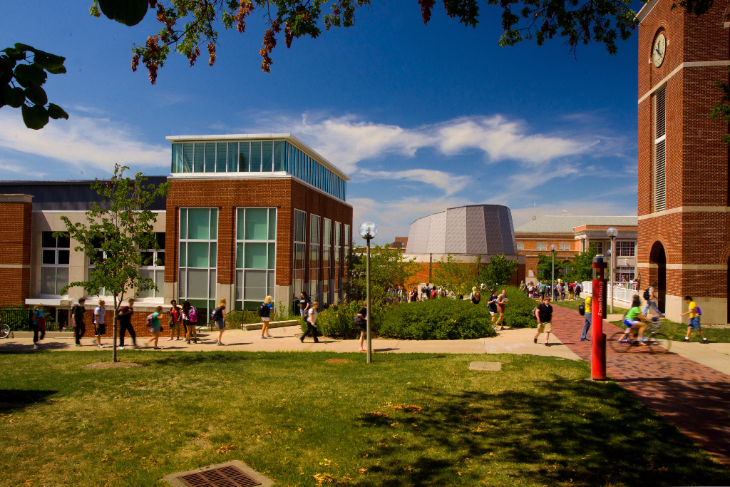 Magruder Hall, Planetarium and Clock Tower