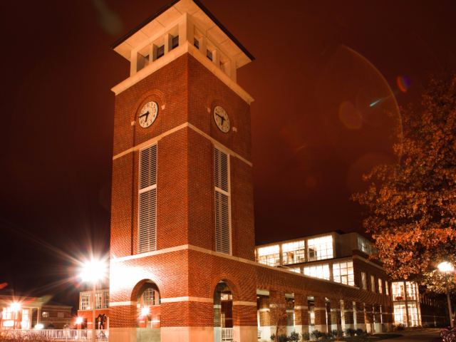 Clock Tower by the library