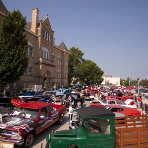 Car Festival in Downtown Kirksville