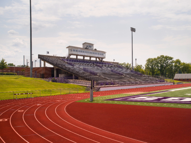 Gardner Track at Stokes Stadium