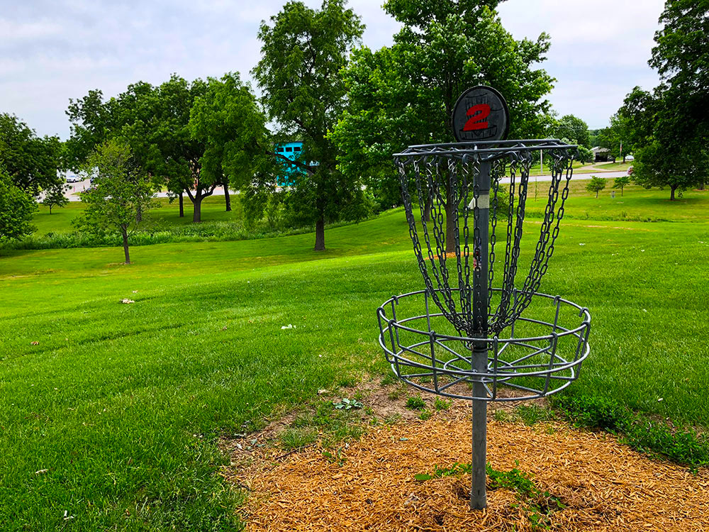 Frisbee Golf at Rotary Park