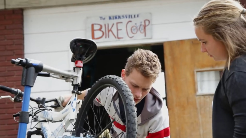 The Bike Coop can teach you how to fix your bike