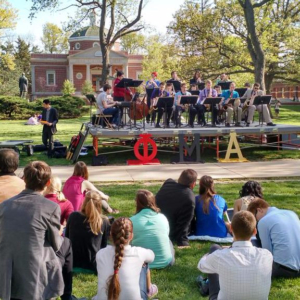 The Phi Mu Alpha Dance Band Jazz'n up the Quad