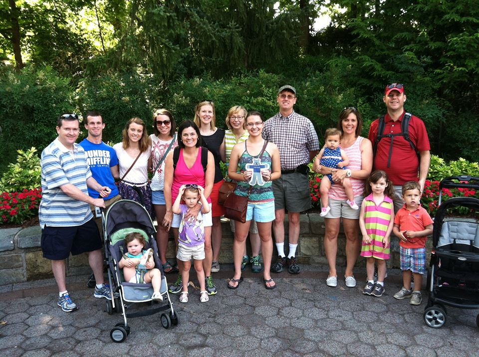 Truman Alumni enjoying a special tour of the National Zoo!